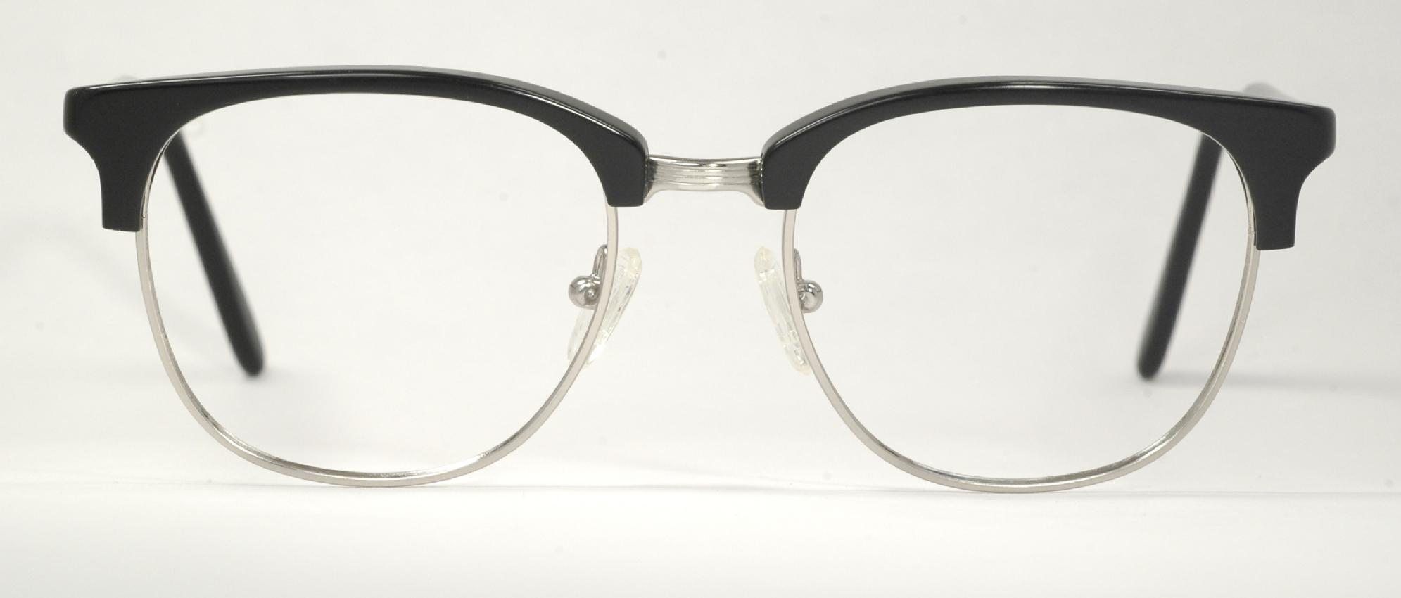 optometrist attic g malcolm x vintage black silver