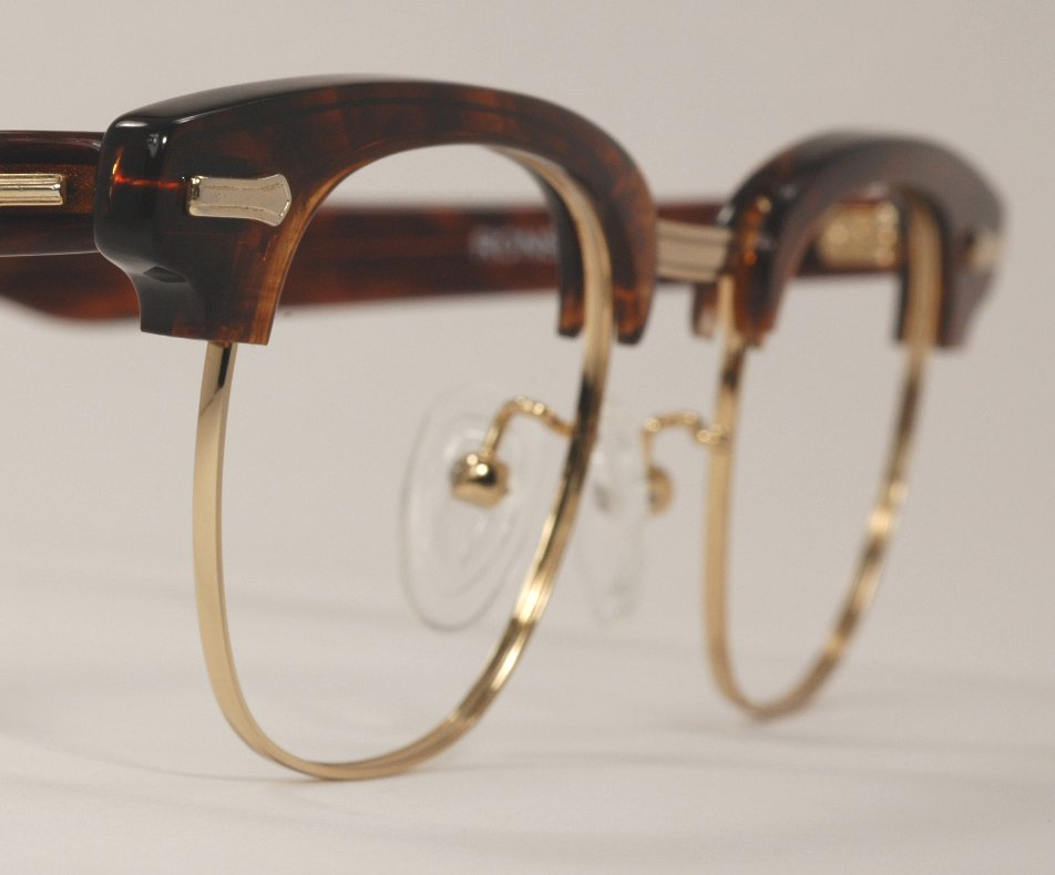 Optometrist Attic Shuron Ronsir G Man Tortoise Gold