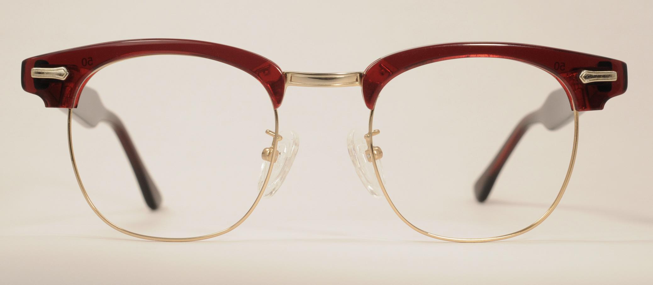 df4941f19e8 Optometrist Attic - SHURON RONSIR ZYL G-MAN CORDOVA COMBINATION EYEGLASSES