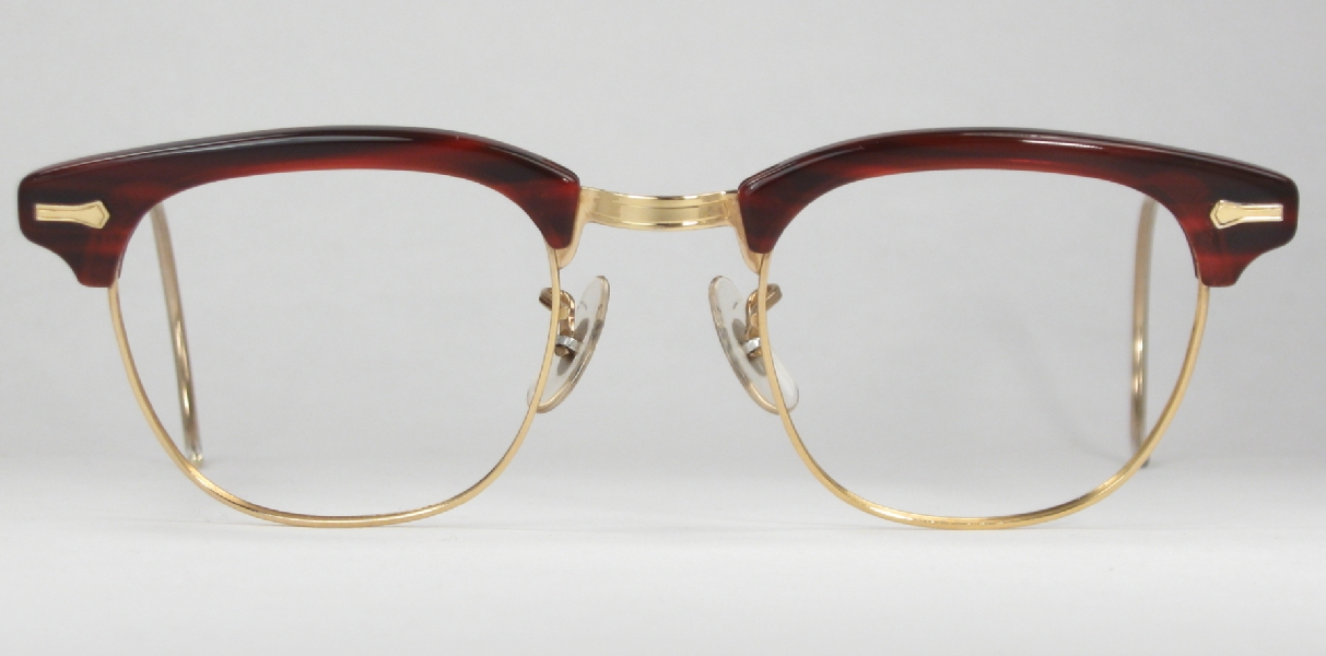 Vintage Shuron Eyeglass Frames : Optometrist Attic - SHURON VINTAGE CORDOVA RONSIR EYEGLASSES
