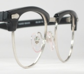 vintage combination browline eyeglasses