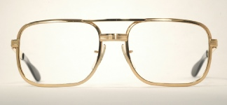 METAL VINTAGE EYEGLASSES FRONT photo, under 350 kb