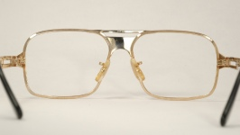 METAL VINTAGE EYEGLASSES SIDE photo, under 350 kb
