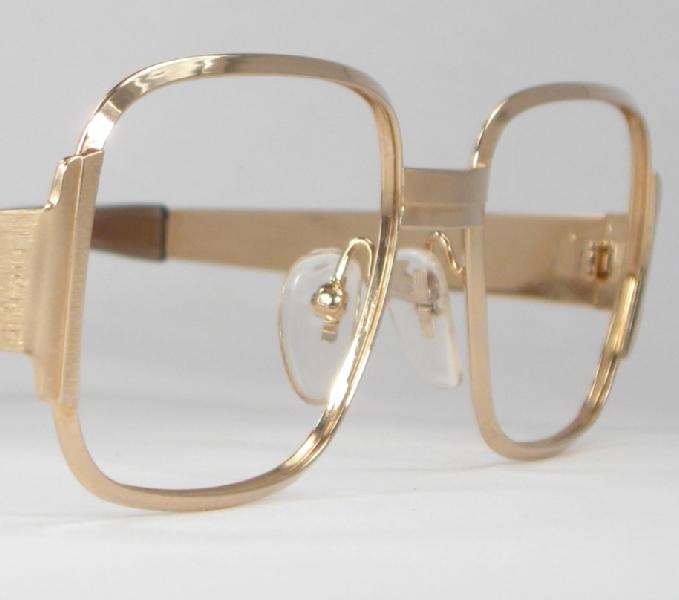 Optometrist Attic - OPTURA JOHN GOLD VINTAGE METAL EYEGLASSES