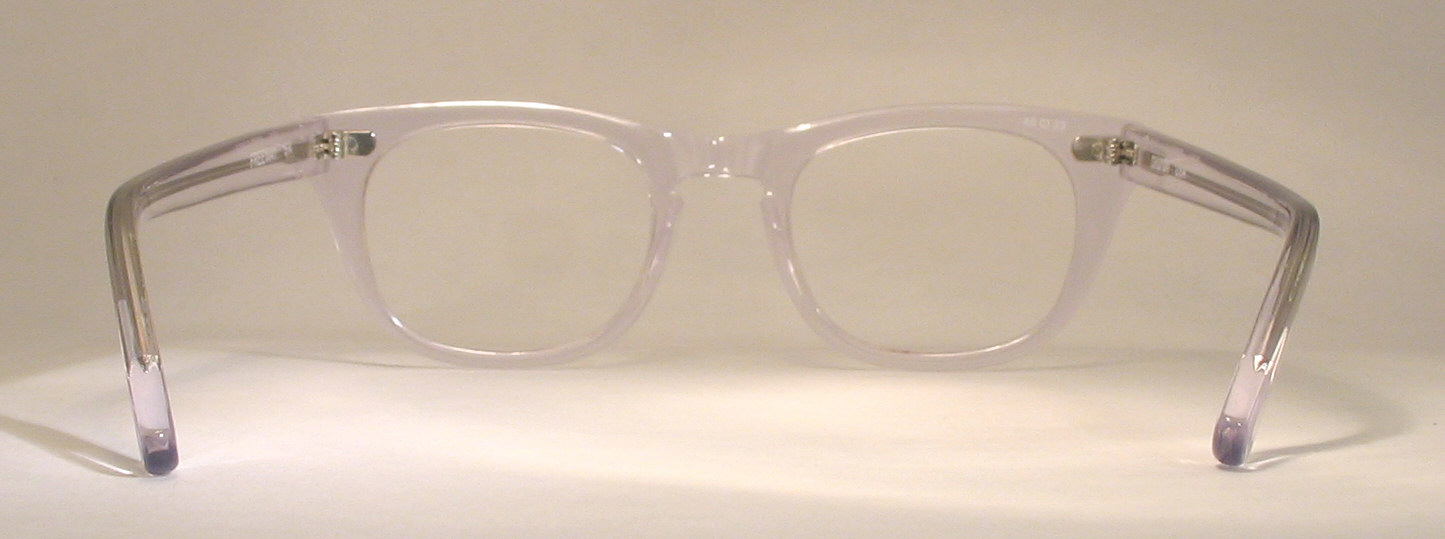 Optometrist Attic - SHURON FREEWAY CRYSTAL CLEAR CLASSIC EYEGLASS FRAMES