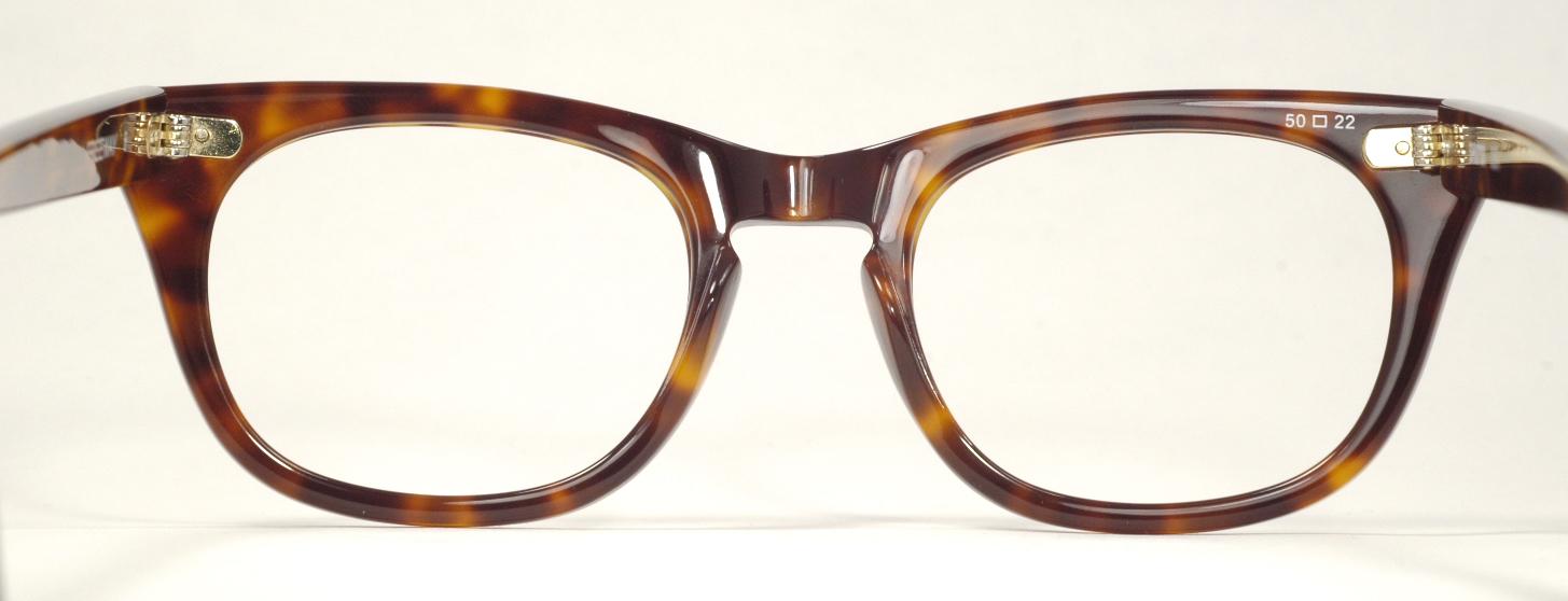 Plastic Eyeglass Frame Allergy : Optometrist Attic - SHURON FREEWAY TORTOISE EYEGLASS FRAMES