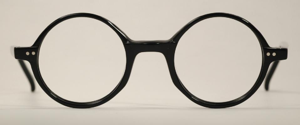 9776826603 Optometrist Attic - ANGLO AMERICAN BLACK ROUND MODEL 400 PLASTIC ...