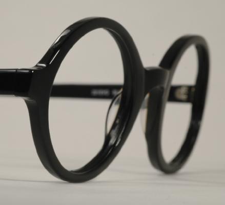 ab90e69814 Optometrist Attic - ANGLO AMERICAN OPTICAL 221 EVO ROUND BLACK ...