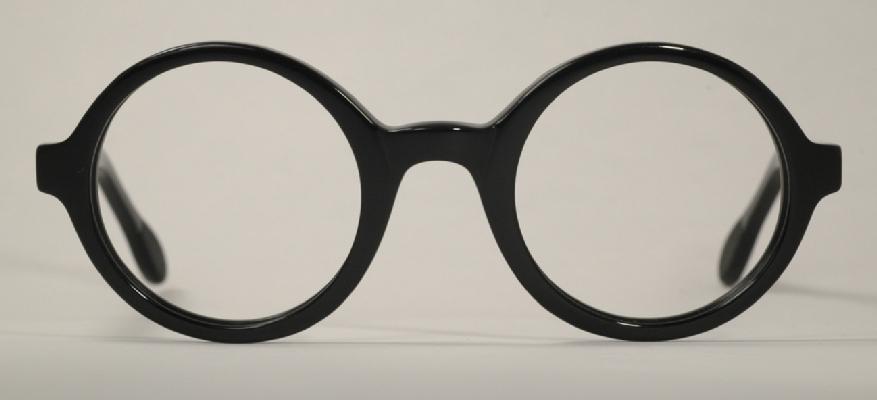 Optometrist Attic - ANGLO AMERICAN OPTICAL 221 EVO ROUND BLACK ...
