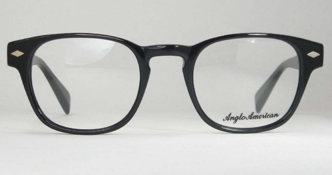 079d7ed15a Optometrist Attic - ANGLO AMERICAN OPTICAL BLACK FITZ EYEGLASSES