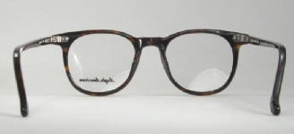 PLASTIC VINTAGE EYEGLASSES BACK photo, under 350 kb