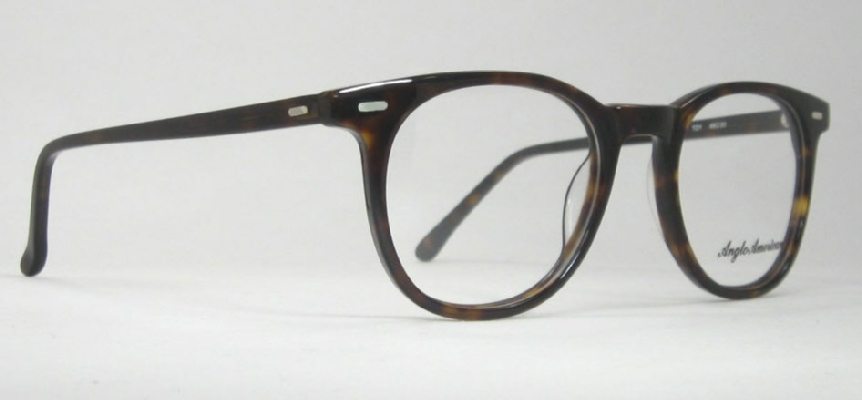 Optometrist attic anglo american optical 313 tortoise for American classic frames