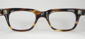 PLASTIC VINTAGE EYEGLASSES SIDE photo, under 350 kb