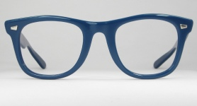 PLASTIC VINTAGE EYEGLASSES FRONT photo, under 350 kb