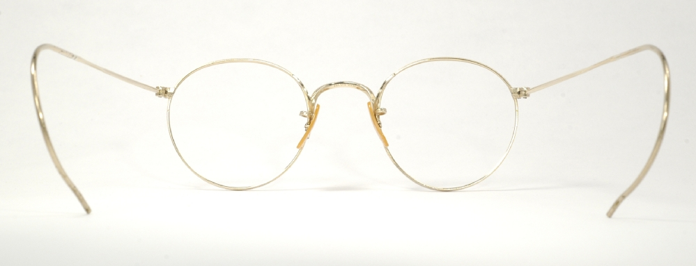Optometrist Attic B Amp L Gold Wire Rim Vintage Eyeglasses