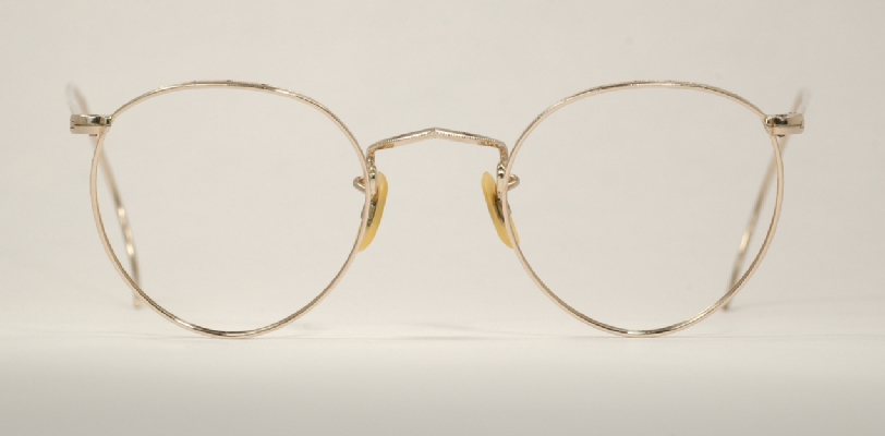 Gold Wire Glasses Frames : Optometrist Attic - UOC GOLD WIRE RIM FUL-VUE P3 VINTAGE ...