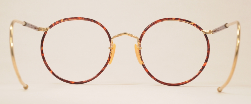 wire vintage eyeglasses back photo under 350 kb
