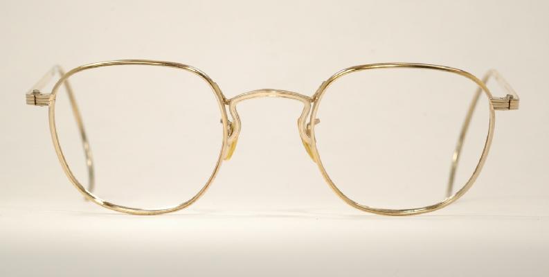 9d363213cfa Optometrist Attic Ao Liner Gold Wire Rim Vintage Eyeglasses