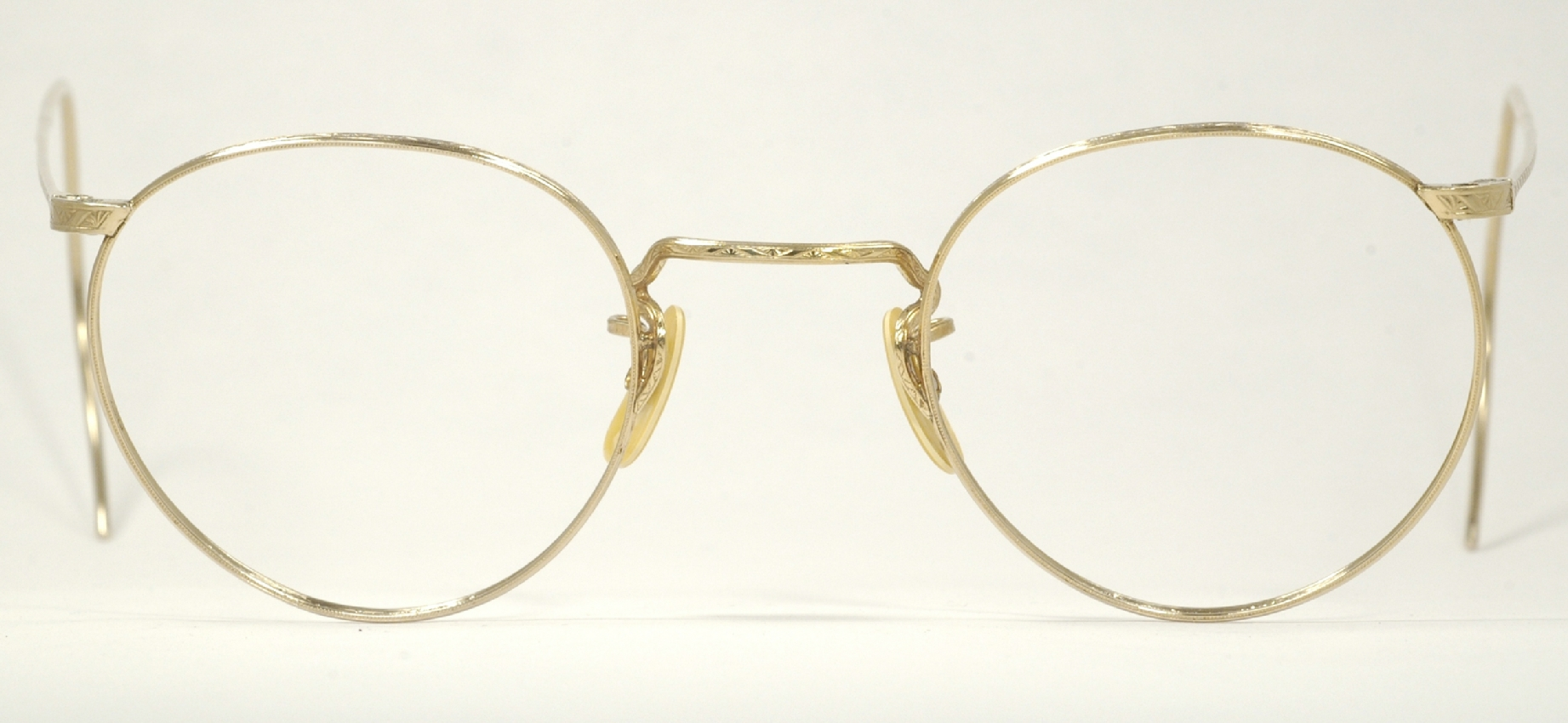 Gold Wire Glasses Frames : Optometrist Attic - AO GOLD WIRE RIM VINTAGE P3 EYEGLASSES