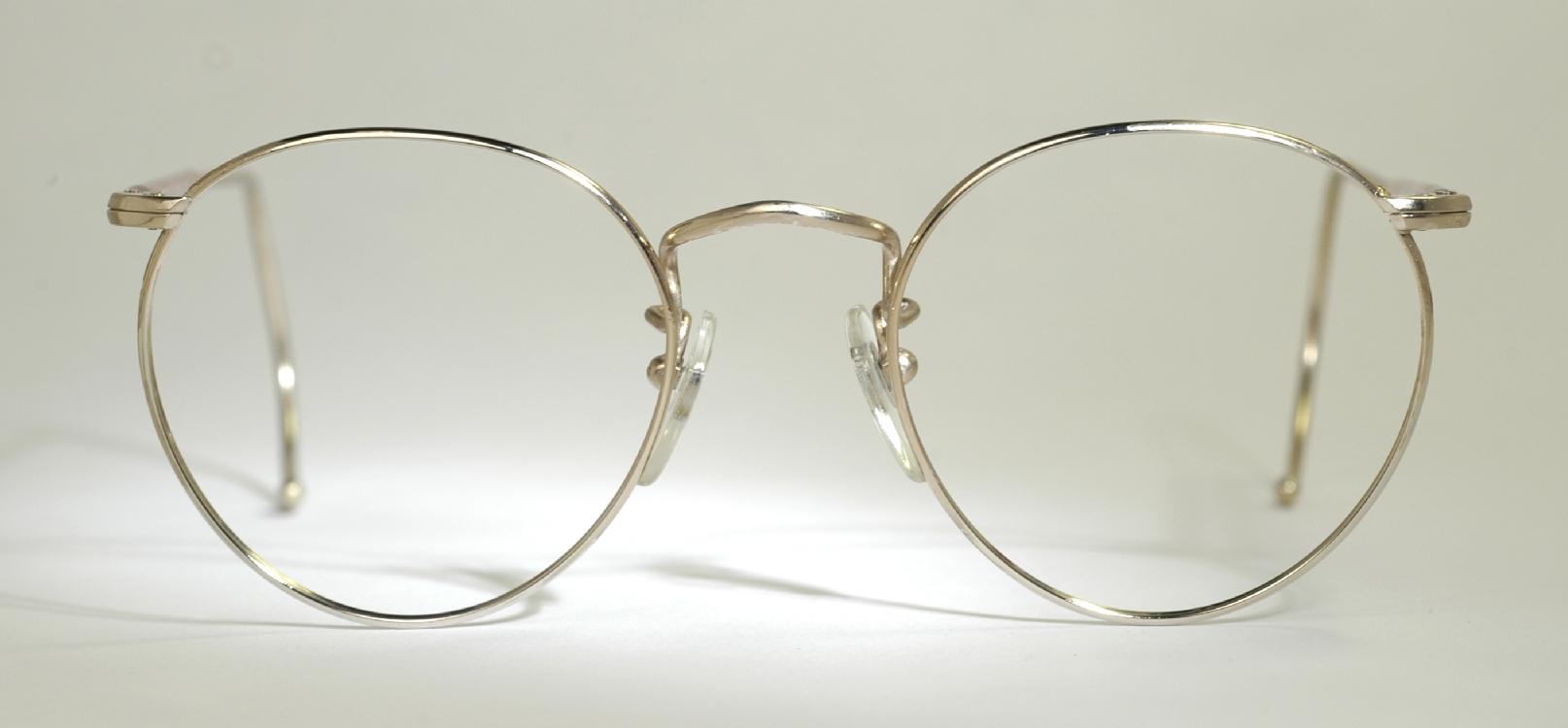 Optometrist Attic - GOLD WIRE RIM VINTAGE EYEGLASSES