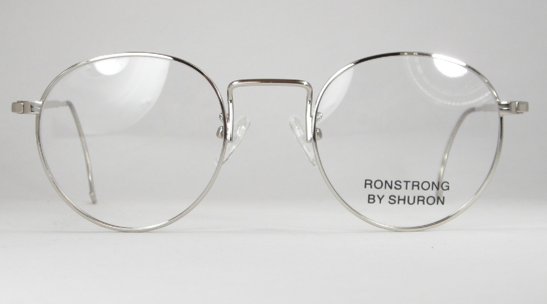 6898313f06a Optometrist Attic - SHURON SILVER WIRE RIM RONSTRONG FUL-VUE EYEGLASSES