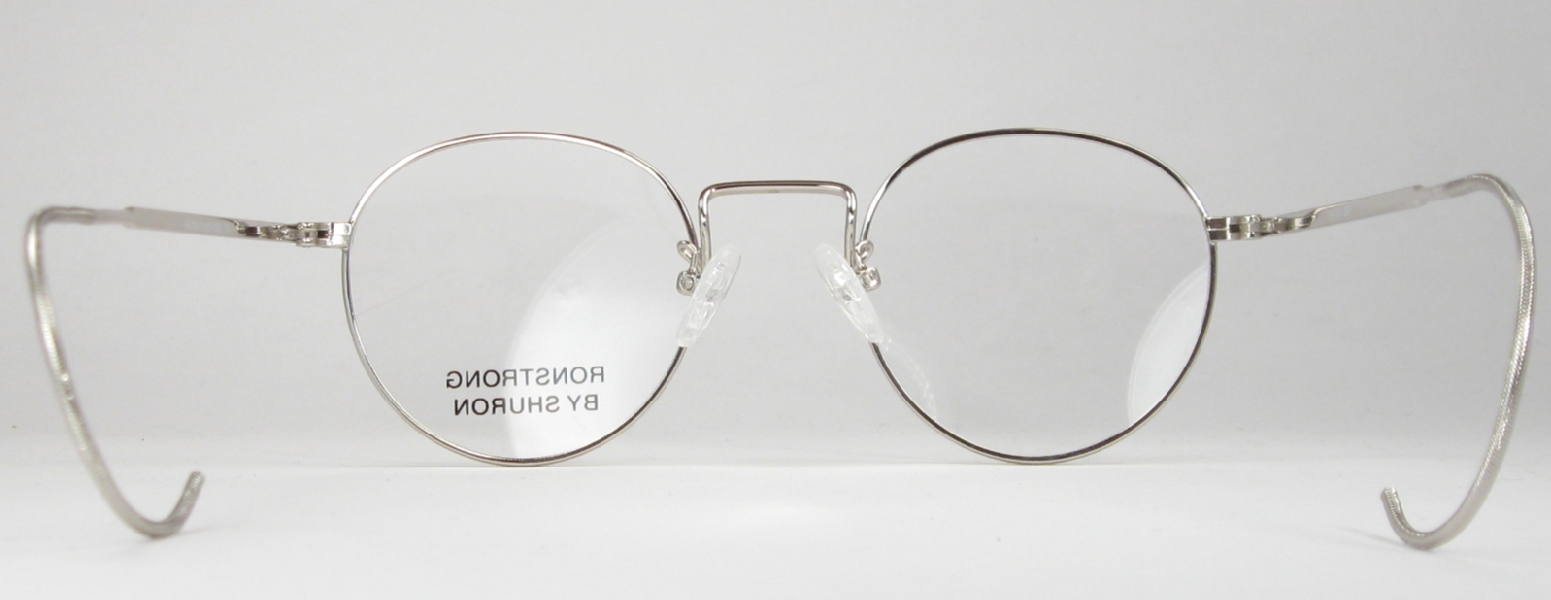 Optometrist Attic - SHURON SILVER WIRE RIM RONSTRONG FUL-VUE EYEGLASSES