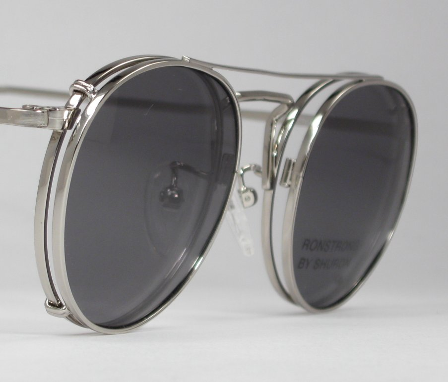 Eyeglass Frame With Clip On Sunglasses : EYEGLASSES WITH CLIP ONS - EYEGLASSES