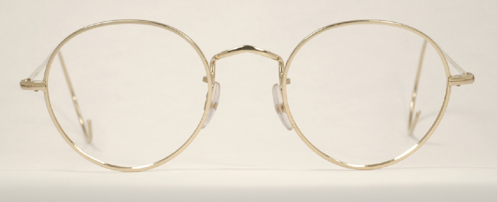 Optometrist Attic - SAVILE ROW 14K GOLD PANTO CENTRE JOINT ...