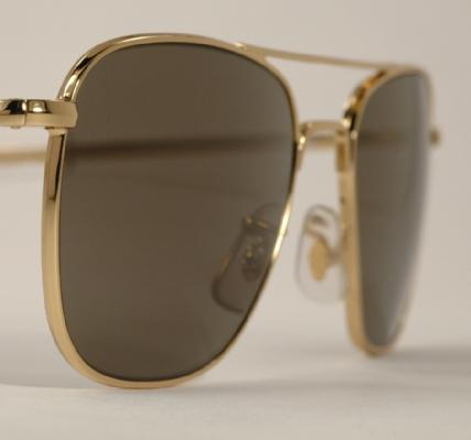 Optometrist Attic - CLASSIC AO ORIGINAL PILOT GOLD SUNGLASSES EYEGLASSES e3edeb812f2