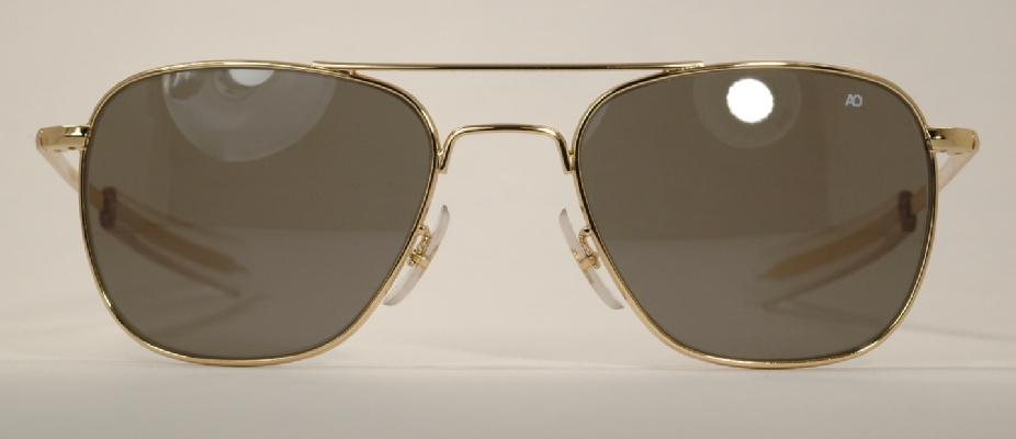 Ao Original Pilot Sunglasses  optometrist attic classic ao original pilot gold sunglasses