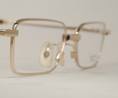 Optometrist Attic - AO RENAISSANCE RAMSEY GOLD WIRE RIM EYEGLASSES
