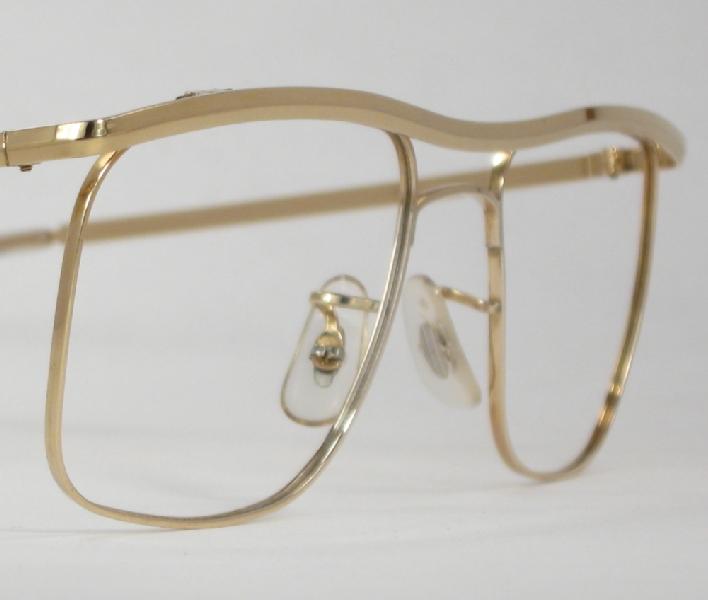 Gold Wire Eyeglass Frames : Optometrist Attic - B&L GOLD WIRE RIM VINTAGE EYEGLASSES